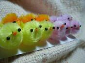 Chenille Easter Chicks