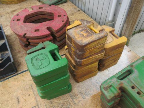Universal Tractor Wheel Weights : John deere tractor weights ebay