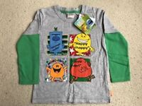 MR MEN Top New with tags Age 4-5 yrs