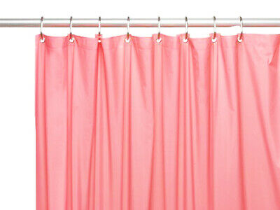 Vinyl Shower Curtain Liner, Rose