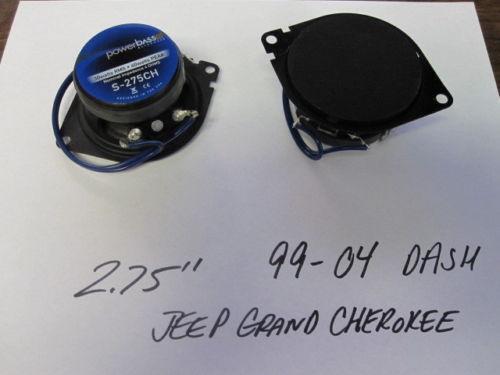 jeep grand cherokee dash speakers ebay. Black Bedroom Furniture Sets. Home Design Ideas