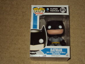 FUNKO, POP, BATMAN, DC SUPER HEROES #01, VINYL FIGURE