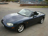 1998 MAZDA MX5 ONLY 2 OWNERS LOW MILES BARGAIN!!!!