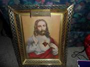 Lighted Jesus Picture