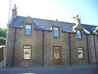 UNFURNISHED HOUSE TO RENT IN PORTGORDON VIEWING START END MARCH MAY SELL