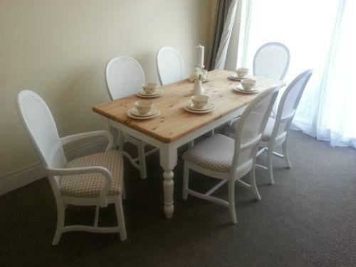 Laura Ashley Dining Table And Chairs EBay
