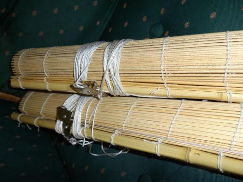bambus jalousie ebay. Black Bedroom Furniture Sets. Home Design Ideas