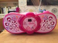 Barbie CD/radio player