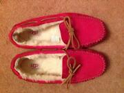 Ladies Leather Moccasins Slippers