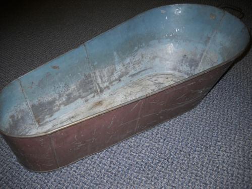 antique baby tub ebay. Black Bedroom Furniture Sets. Home Design Ideas