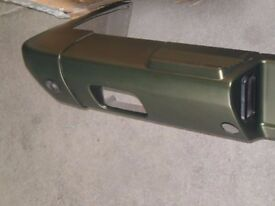 Mercedes G Wagon W463 Rear Bumper Face Bar and End Caps G55 AMG 4638800471