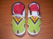 Mens Beaded Moccasins