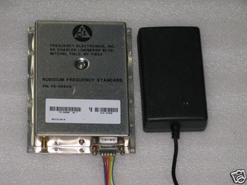 1 Hz to 20 MHz Programable Rubidium Frequency easy kit