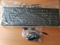Genuine original HP keyboard & mouse set **NEW**