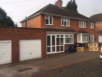 *B.C.H*-3 Bedroom Semi detached House-Craythorne Ave-Handsworth Wood-Close To Hamstead Hall School