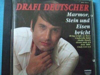 Marmor Track (Drafi Deutscher | CD | Marmor, Stein und Eisen bricht (compilation, 12 tracks...)
