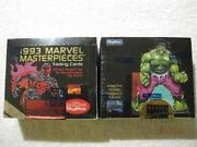 1993 Marvel Masterpieces Box