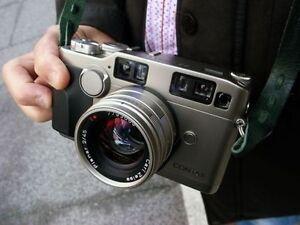 Film cameras, accessories, and dark room equipment