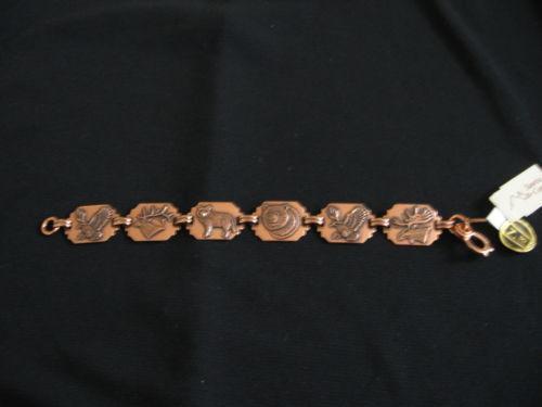 Vintage Copper Indian Bracelet Ebay
