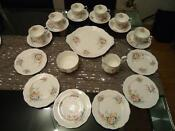 English Bone China Tea Set