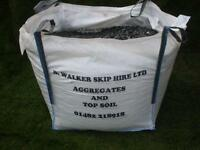 drive way gravel and stone soil green granite/free local delivery hull