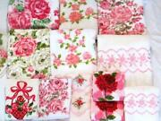 Vintage Cotton Bath Towels