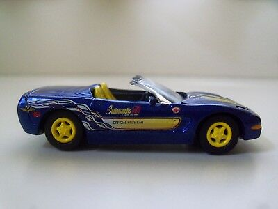 1998 Corvette Pace Car - JOHNNY LIGHTNING - 1998 CHEVROLET CORVETTE INDIANAPOLIS 500 PACE CAR - (LOOSE)