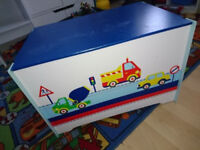 Childrens Wooden Toy Box