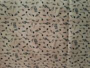 Music Note Fabric