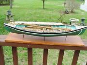 Vintage Wood Boat Models