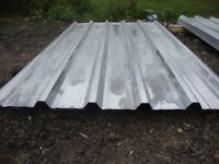 brand new 8ft long galvanized box profile roofing sheets
