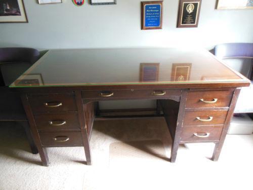 Vintage Executive Desk Ebay