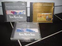 3 brand new Classical Music CDs