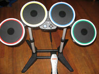 Rock Band Guitar/drum/microphone no game