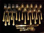 Stanley Roberts Gold Flatware
