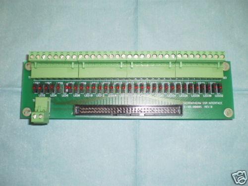 Sierratherm SSR Interface Board, PN: 5-48-00005, Rev B