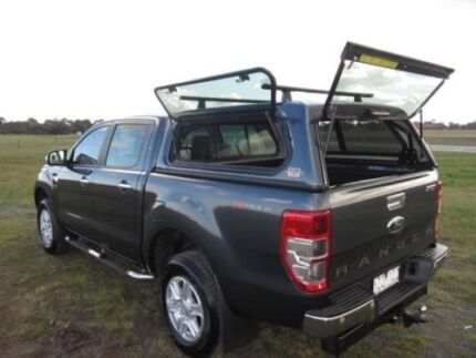 Ford Ranger Dual Cab EGR Smooth Canopy + EGR Roof Racks Sussex Inlet Shoalhaven Area Preview
