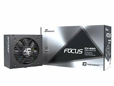 Seasonic FOCUSPX-850 Focus Px-850, 850w 80+ Platinum Full-modular, Fan Control