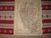 Antique California Map