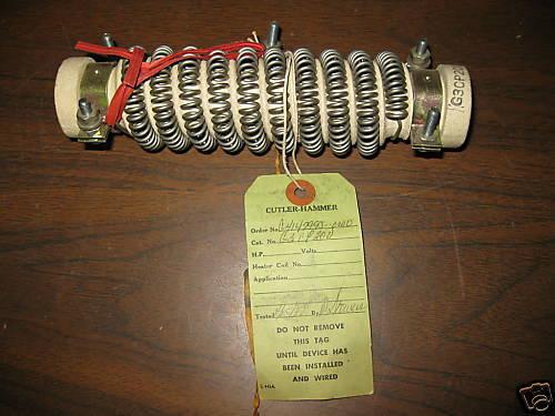 New Cutler Hammer Resistor G3CP200