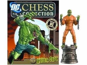 KILLER CROC DC CHESS FIGURE & MAG in BOX #30 BATMAN Set EAGLEMOSS Molendinar Gold Coast City Preview
