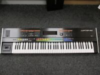 ROLAND JUPITER 50 SYNTHESIZER BOXED HARDLY USED STILL WITH 2 YEARS WARRANTY