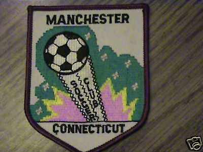 MANCHESTER CONNECTICUT SOCCER CLUB CAP PATCH,COLLECT 1