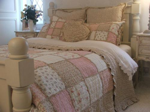 King Size Patchwork Quilt Ebay