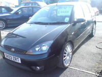 Ford Focus ST170 5 DOOR Black