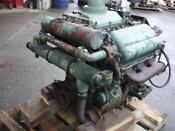Marine Detroit Diesel Engine