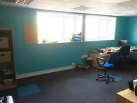 Individual Offices to rent, (3) top floor of a warm and friendly business.