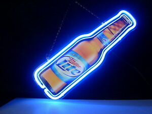 Miller Light Neon Beer Sign #1: $ 35 JPG set id=
