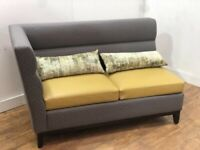 Heavy Duty Fabric Seat Settee Sofa Couch Bench Restaurant Pub Bar Club Bistro