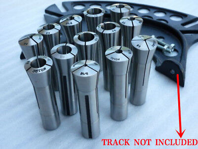 13 Pcs R8 Collet Set 18-78 Mill Chuck Holder Tool For Bridgeport .0006 Us